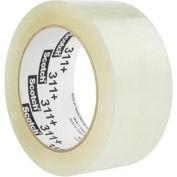 """3M™ Scotch® 311+ High Tack Carton Sealing Tape 2"""" x 110 Yds. 2 Mil Clear - Pkg Qty 36"""