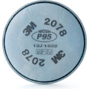 3M™ Particulate Filter, P95, with Nuisance Level Organic Vapor/Acid Gas Relief