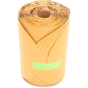 "3M™ Stikit™ Gold Paper Disc Roll 216U 6"" X NH Aluminum Oxide P360 175 discs per roll - Pkg Qty 6"
