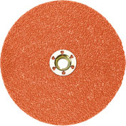 "3M™ Cubitron™ II Fibre Disc Quick Change 987C 4-1/2"" Diameter TN Ceramic Grain 60+ Grit - Pkg Qty 25"