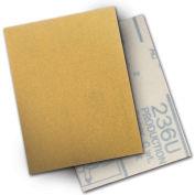 """3M™ Hookit™ Paper Sheet 236U 3"""" X 4"""" P150 Grit Aluminum Oxide - Pkg Qty 500"""