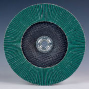 """3M™ Flap Disc 577F 4-1/2"""" x 5/8-11 T27 Alumina Zirconia 36 Grit - Pkg Qty 10"""