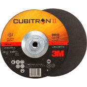 "3M™ Cubitron™ II Cut-Off Wheel Quick Change 66542 T27 7"" x .09"" x 5/8-11"" Ceramic Grain"
