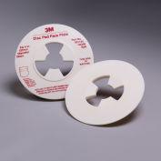 "3M™ Disc Pad Face Plate 45208, 5"" Soft White - Pkg Qty 10"