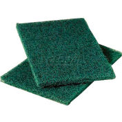 3M Scotch-Brite™ Heavy Duty Scouring Pads , Green, 36 Pads - 86
