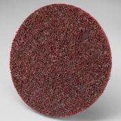 """3M™ Scotch-Brite™ Roloc™ Disc SC-DR 4"""" Diameter TR Aluminum Oxide MED Grit - Pkg Qty 100"""