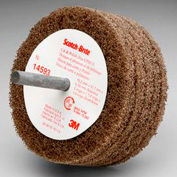 "3M™ Scotch-Brite™ Cut and Polish Disc D5 3"" x 1 1/4"" Aluminum Oxide A MED"