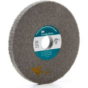 "3M™ Scotch-Brite™ EXL Deburring Wheel 6"" x 1/2"" x 1"" Silicon Carbide 9S FIN"