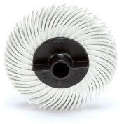 """3M™ Scotch-Brite™ Radial Bristle Disc Thin Bristle 2"""" x 3/8"""" Ceramic 120 Grit - Pkg Qty 80"""