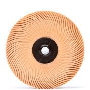 "3M™ Scotch-Brite™ Radial Bristle Disc Thin Bristle 3"" x 3/8"" Ceramic 6 Micron Grit - Pkg Qty 80"