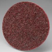 """3M™ Scotch-Brite™ Roloc™ Disc SL-DR 2"""" Diameter TR Aluminum Oxide MED Grit - Pkg Qty 200"""