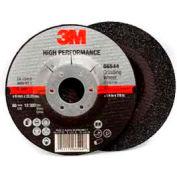 "3m™ High Performance Depressed Center Grinding Wheel T27 66544 4.5""X1/4""X7/8"" Single-Min Qty 10 - Pkg Qty 20"