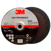 "3M High Performance Depressed Center Grinding Wheel - T27 - Quick Change - 9"" x 1/4"" x 5/8-11"" - Pkg Qty 20"