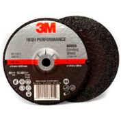 "3m™ High Performance Depressed Center Grinding Wheel - T27 - 4"" x 1/4"" x 3/8"" - Pkg Qty 20"