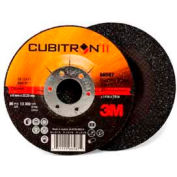 "3M™ Cubitron™ II Depressed Center Grinding Wheel 78466-Q 4-1/2""x 1/4""x 7/8"" T27  24 Grt"