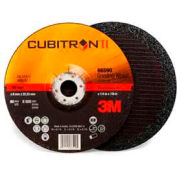 "3M™ Cubitron™ II Depressed Center Grinding Wheel 66590 7""x 1/4""x 7/8"" T27 Ceramic 36 Grt"
