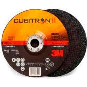 "3M™ Cubitron II Depressed Center Grinding Wheel - T27 - QC 9"" x 1/4"" x 5/8-11"" - 36+ Grade"