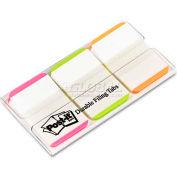 Post-It® Durable Tabs 686l-Pgo, 1 In X 1.5 In (25,4 Mm X 38,1 Mm) Pink, Green, Orange - Pkg Qty 4