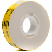 "3M™ Scotch® 928 ATG Repositionable Double Coated Tissue Tape 3/4"" x 18 Yds. 2 Mil White - Pkg Qty 48"