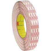 "3M™ 476XL Double Coated Extended Liner Tape 1/2"" x 360 Yds. 6 Mil Translucent - Pkg Qty 12"