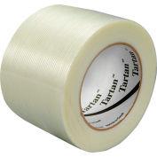 """3M™ Tartan™ 8934 Filament Tape 3"""" x 60 Yds. 4 Mil Clear - Pkg Qty 12"""