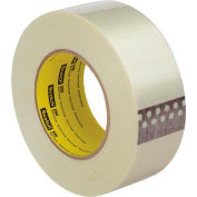 "3M™ Scotch® 898 Filament Tape 2"" x 60 Yds. 6.6 Mil Clear - Pkg Qty 24"