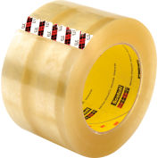 3M Carton Sealing Tape 373 72mm x 100m 2.5 Mil Clear - Pkg Qty 24