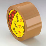 3M Carton Sealing Tape 372 48mm x 50m 2.2 Mil Tan - Pkg Qty 36