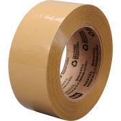 3M Carton Sealing Tape 375 48mm x 50m 3.1 Mil Tan - Pkg Qty 36