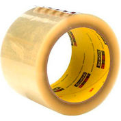 "3M™ Scotch® 373 Carton Sealing Tape 3"" x 55 Yds. 2.5 Mil Clear - Pkg Qty 24"