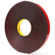 "3M™ 5952 VHB Acrylic Foam Tape 3/4"" x 36 Yds 45 Mil Black - Pkg Qty 12"