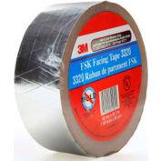 "3M™ FSK Facing Tape 3320 Silver, 1-7/8"" x 150', 6.7 Mil - Pkg Qty 24"
