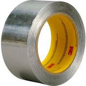 3m™ Aluminum Foil Tape 4380 Silver, 2 In X 55 Yds - Pkg Qty 24