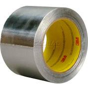 3m™ Aluminum Foil Tape 4380 Silver, 3 In X 55 Yds - Pkg Qty 16
