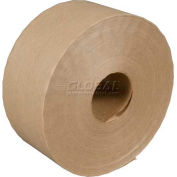 3M Water Activated Paper Tape 6144 Economy Reinforced 70mm x 450' 4.9 Mil Kraft