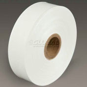 """3M Water Activated Paper Tape 6141 Light Duty 1.5"""" x 500' 3.5 Mil White"""