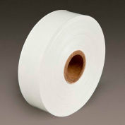 """3M Water Activated Paper Tape 6142 Medium Duty 3"""" x 600' 5.5 Mil White"""
