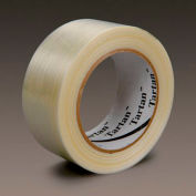 "3M™ Tartan™ 8932 Strapping Tape 2"" x 60 Yds. 4.3 Mil Clear - Pkg Qty 24"