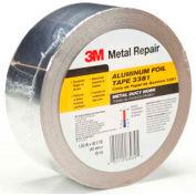 """3M™ Aluminum Foil Tape 3381 Silver, 1-7/8"""" x 150', 2.7 Mil - Pkg Qty 24"""