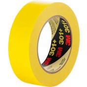 "3M Masking Tape 301+ 0.71""W x 60.15 Yards - Yellow - Pkg Qty 48"