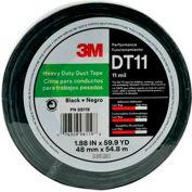"3M™ Heavy Duty Duct Tape DT11 Black, 1-7/8"" x 180', 11 Mil"