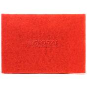 3M™ Red Buffer Pad 5100, 28 in x 14 in, 10/case