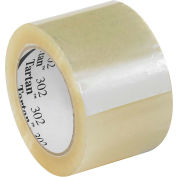 "3M™ Tartan™ 302 Carton Sealing Tape 3"" x 110 Yds. 1.6 Mil Clear - Pkg Qty 24"