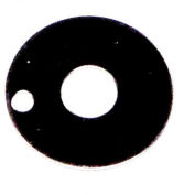 """3M™ A0080 D-Washer, .4"""" Thick, 1 Pkg Qty"""
