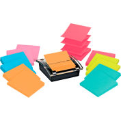 Post-it® Pop-up Notes DS330-SSVA, 3 in x 3 in, 90 Sheets/Pad, 12 Pads/PK - Pkg Qty 6