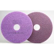3M™ Scotch-Brite™ Purple Diamond Floor Pad Plus, 17 in, 5/case, FN510076527
