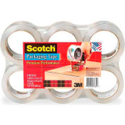 3M Heavy Duty Shipping Packaging Tape 3850-6, 48mm x 50m - Pkg Qty 6