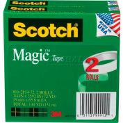 """Scotch® Magic™ Tape 810-2P34-72, 3/4"""" x 2592"""", 3"""" Core, 2 Rolls/PK"""
