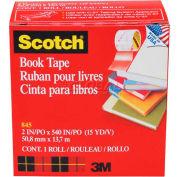 """Scotch® Book Tape 845, 2"""" x 540"""", 3"""" Core, 1 Roll"""