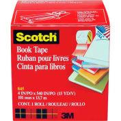 """Scotch® Book Tape 845, 4"""" x 540"""", 3"""" Core, 1 Roll"""